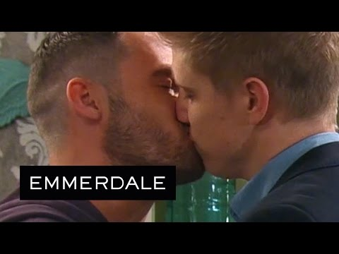 Emmerdale - Robert And Aaron Agree To Move In Together