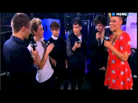 One Direction Interviewed Backstage at 'BBC Radio 1 Teen Awards 2012'