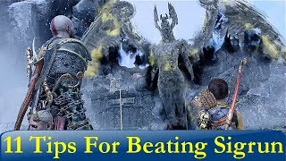 11 Tips For Beating The Valkyrie Queen Sigrun (God of War)