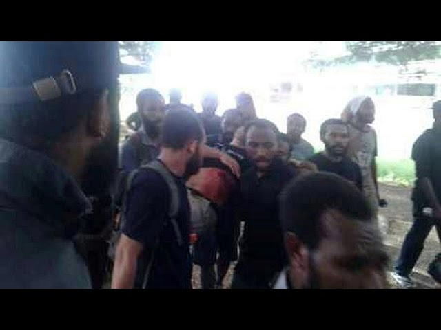 'Several killed' as Papua New Guinea police fire on student protest