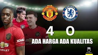 Review Liga Inggris: Manchester United 4-0 Chelsea