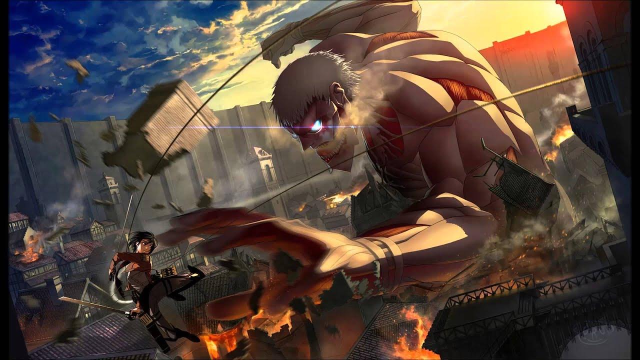 Shingeki no Kyojin Colossal Titan Wallpaper Shingeki no Kyojin Ost 1