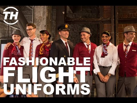 Fashionable Flight Uniforms - Air Canada Rouge Creates an Elegant in-flight Experience for Travelers