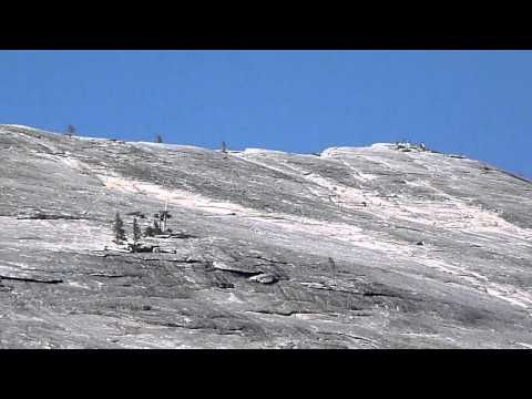 Top of Lembert Dome from Tuolumne Meadows Campground Video
