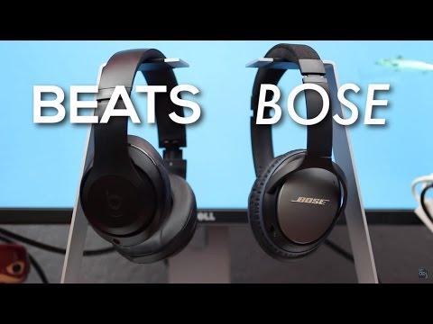 BOSE VS BEATS! Bose QC25 vs Beats Studio Comparison Review (2016)