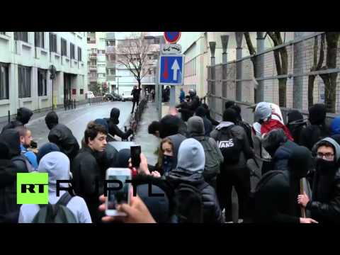 France: Protesters hurl objects at Paris police stations amid clashes
