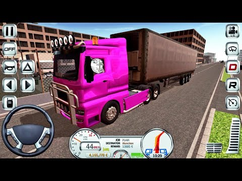 Euro Truck Driver Simulator #17 - Truck Game Android IOS gameplay