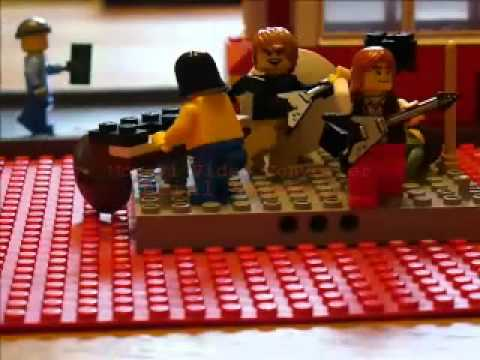 Small Lego Faces Rock At Itchycoo Park video