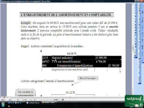 Amortissement videolike - Calcul tableau amortissement excel ...