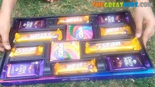 Kids vs Food! Cadbury Celebration Unboxing , Giant Cadbury Dairy Milk Chocolate Box