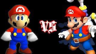 Super Mario 64 Vs. Super Mario Sunshine (In-depth Comparison)