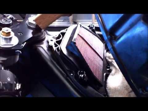 Yamaha R6 air filter replacement
