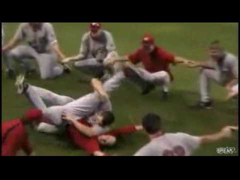 Funny Baseball Rain Delay Dance-Off Video