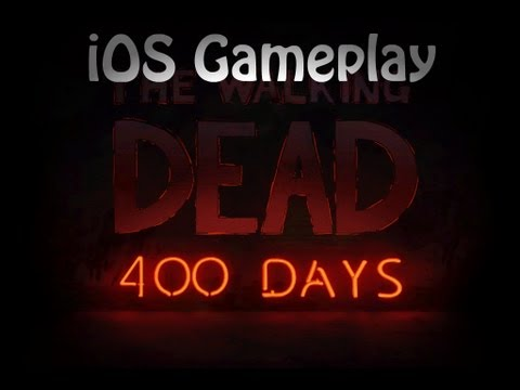 The Walking Dead 400 Days iOS Hands On Review