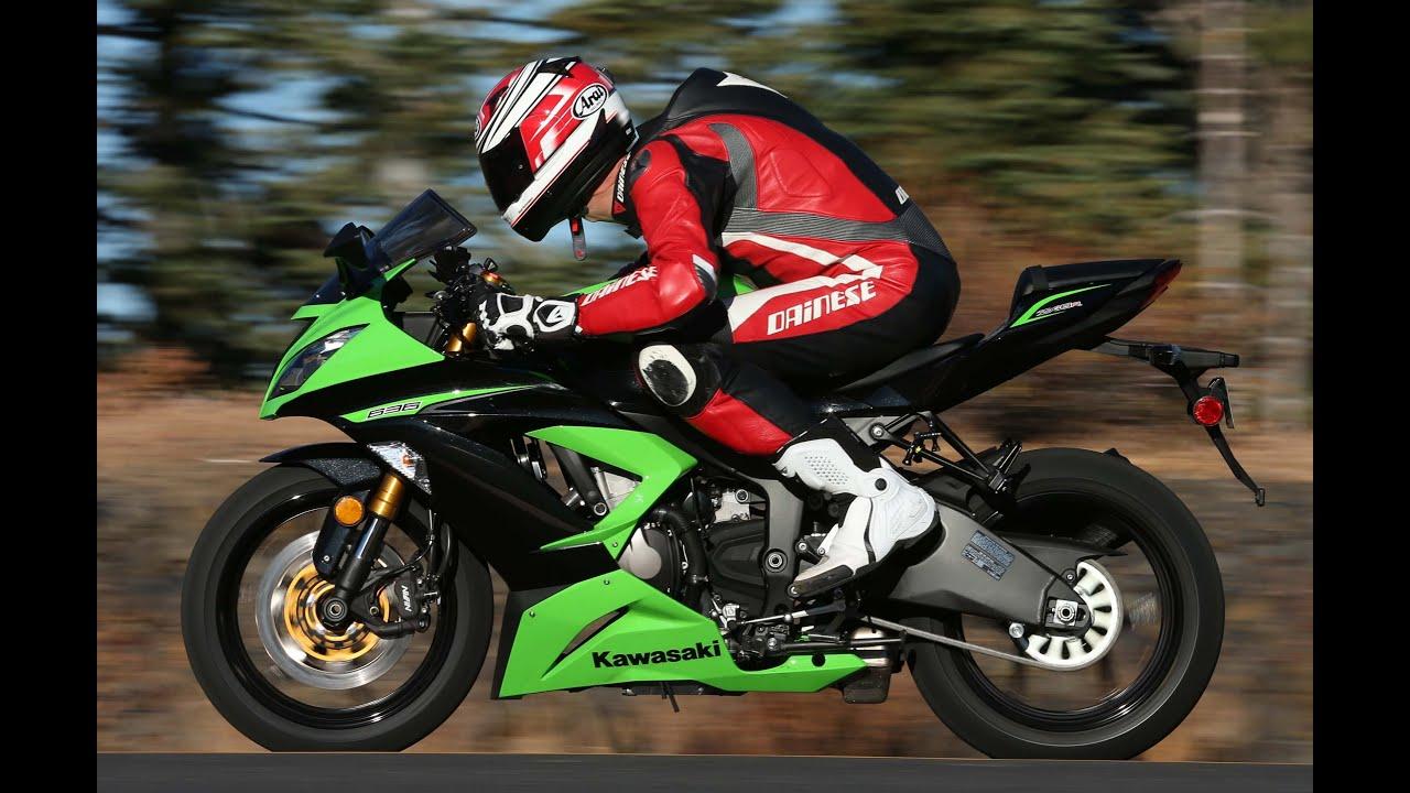 Kawasaki Ninja Zx 6r 636 2013 Youtube