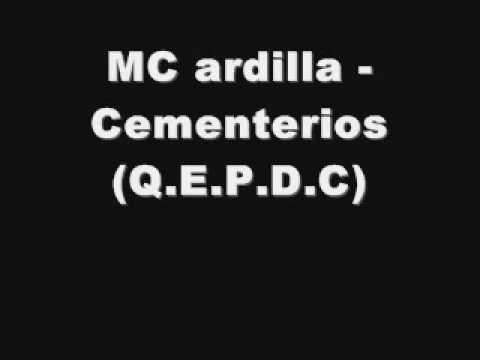 MC ardilla -Cementerios