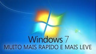 COMO DEIXAR O WINDOWS 7 MAIS RÁPIDO E MAIS LEVE
