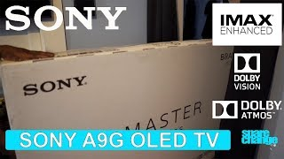 03. SONY A9G OLED TV | The IMAX Enhanced OLED! Unboxing & Settings