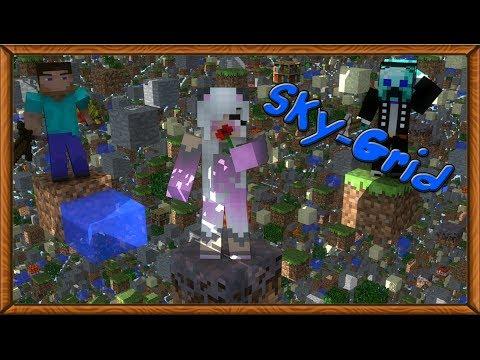 "Minecraft - SkyGrid 1 ""Новая карта"""