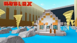 MY EPIC HOUSE BOAT IN ROBLOX
