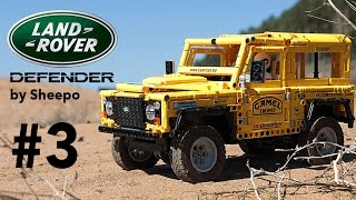 Outdoor ride with SBrick - Land Rover Defender. Episode 3