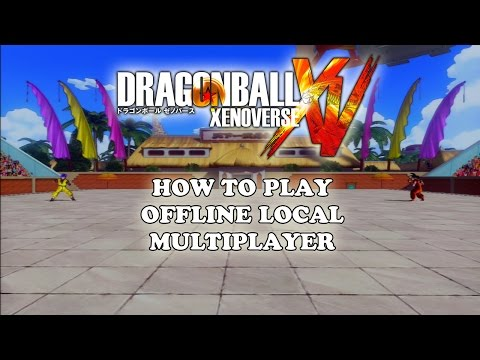 Dragon Ball Xenoverse - How to Play Offline Local Multiplayer (2 Players)