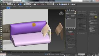 3Ds Max,Zbrush Tutorial Cloth Modifier 2