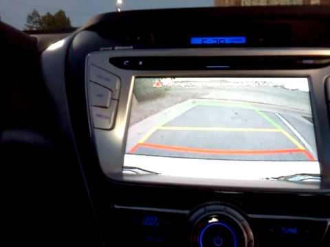 2011 Hyundai Elantra Limited Back Up Camera And Navigation Youtube