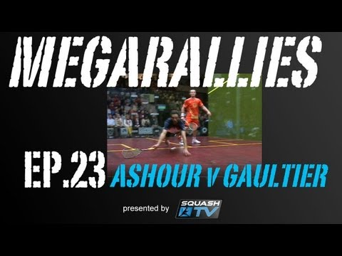 Squash : MegaRallies - Ramy Ashour v Gregory Gaultier - EP.23
