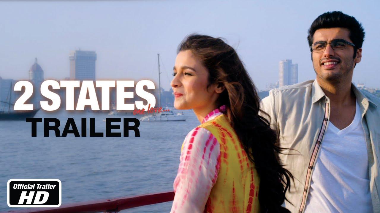 States - Official Trailer - Arjun Kapoor, Alia Bhatt - YouTube