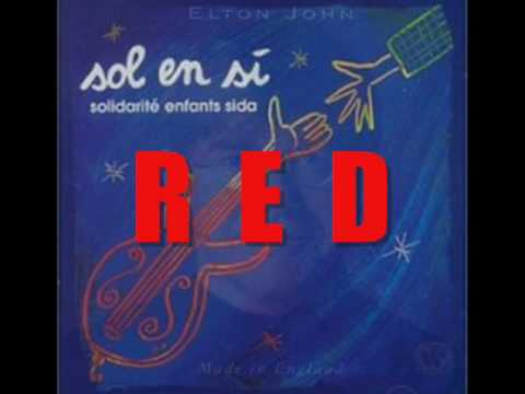 Elton John - Red (1994) (With Lyrics)