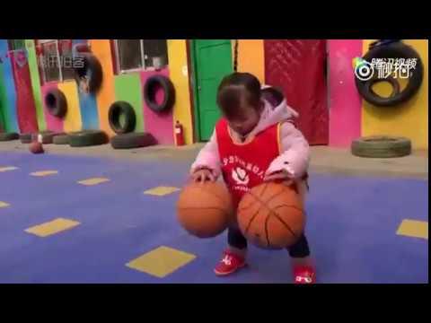 666!幼兒園花樣籃球操 最小孩子僅兩歲半