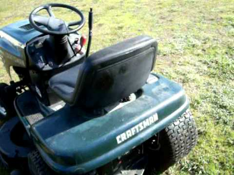 42-inch Craftsman Mower 001.MOV
