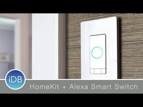 Hands-On: iDevices Instinct Alexa Integrated HomeKit Wall Switch at CES 2018