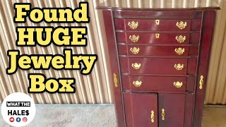 FOUND JEWELRY BOX I Bought Abandoned Storage Unit Locker Opening Mystery Boxes Storage Wars Auction