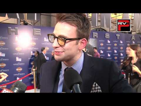 Chris Evans interview at the World Premiere of Captain America The First Avenger