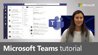 How to use Microsoft Teams, a demo tutorial (2019)
