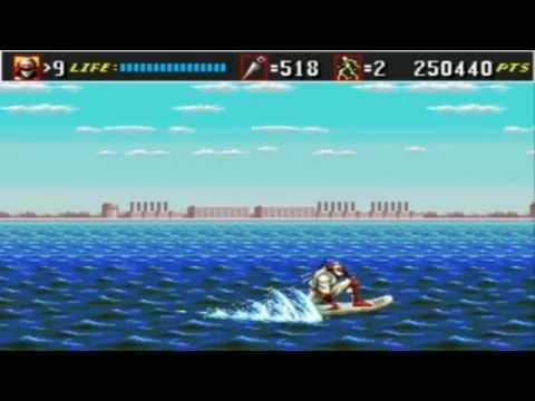 Sega Genesis Shinobi III: Return of the Ninja Master Round 4: Destruction