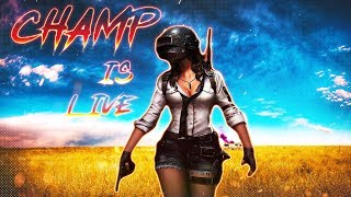 🔴NEW UPDATE IS AWESOME LET'S GOOO PUBG MOBILE HINDI LIVE STREAM INDIA | CHAMP IS LIVE | CSYT CLAN✅