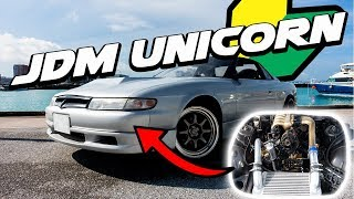 The Mazda YOU Don't Know About   500hp Bridgeported Eunos Cosmo ROTARY Monster