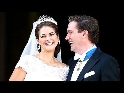 Sweden's Princess Madeleine marries New York banker