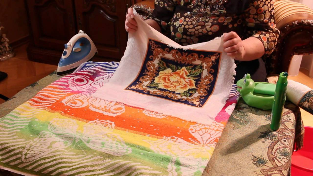 Как правильно постирать канву с вышивкой 12