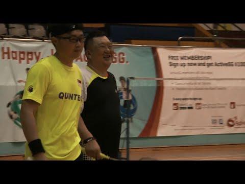 Closer Look: Badminton l 8th ASEAN Para Games Singapore 2015