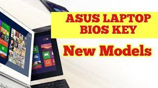 Asus Laptop - New Model Boot Option Key - Asus Bios Key