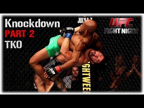 UFC 2 Лучший Knockdown(нокдаун,нокаут)Недели№2!Самые красивые KO,Нелепые моменты,Баги UFC