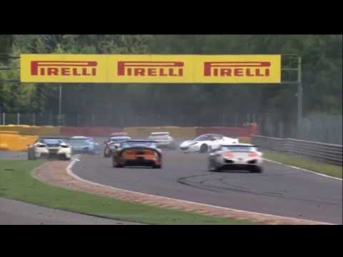 Lauda Big Crash @ 2014 GT4 European Spa Race 2