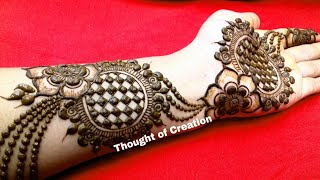 New Jewellery Mehndi Design for Hands|Latest Stylish Mehndi Design | Thought of Creation