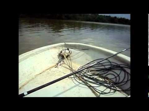 02.062011 Memancing Udang Galah/Prawn Fishing@Sg Sarawak, Kuching, Sarawak, Malaysia