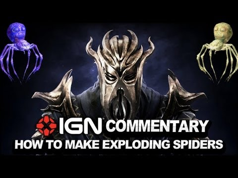Skyrim Dragonborn DLC - How to Make Magical Exploding Spiders