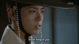 "Moonlight drawn by clouds - ""I will... never forgive  you!!!"""